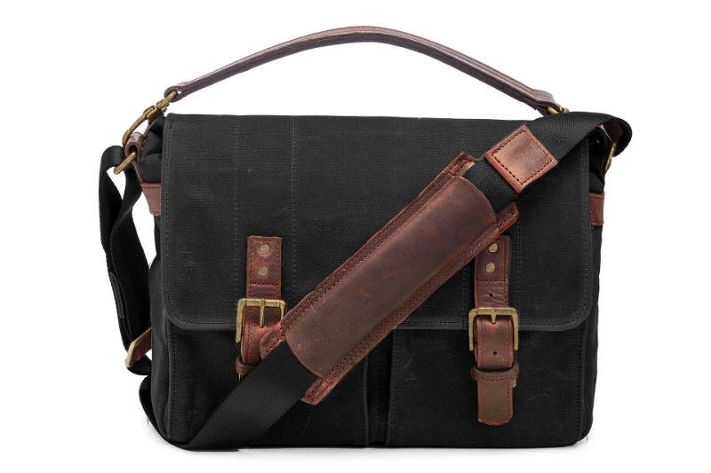 ONA The Prince Street Messenger Bag Black OUTLET