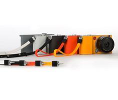 Leica Neck strap silicon melon-yellow