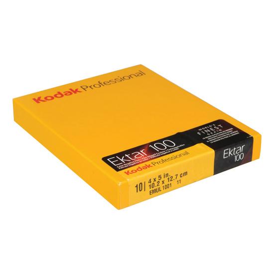 Kodak Ektar 100 4X5 10Sh