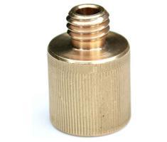 Rycote Brass 3/8inch M to 5/8 inch F screw adaptor