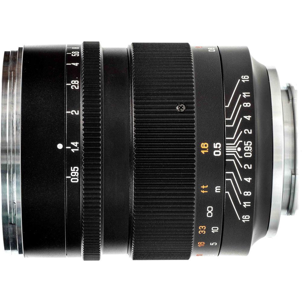Zhongyi Mitakon Speedmaster 50mm f/0.95 mark III voor Sony FE