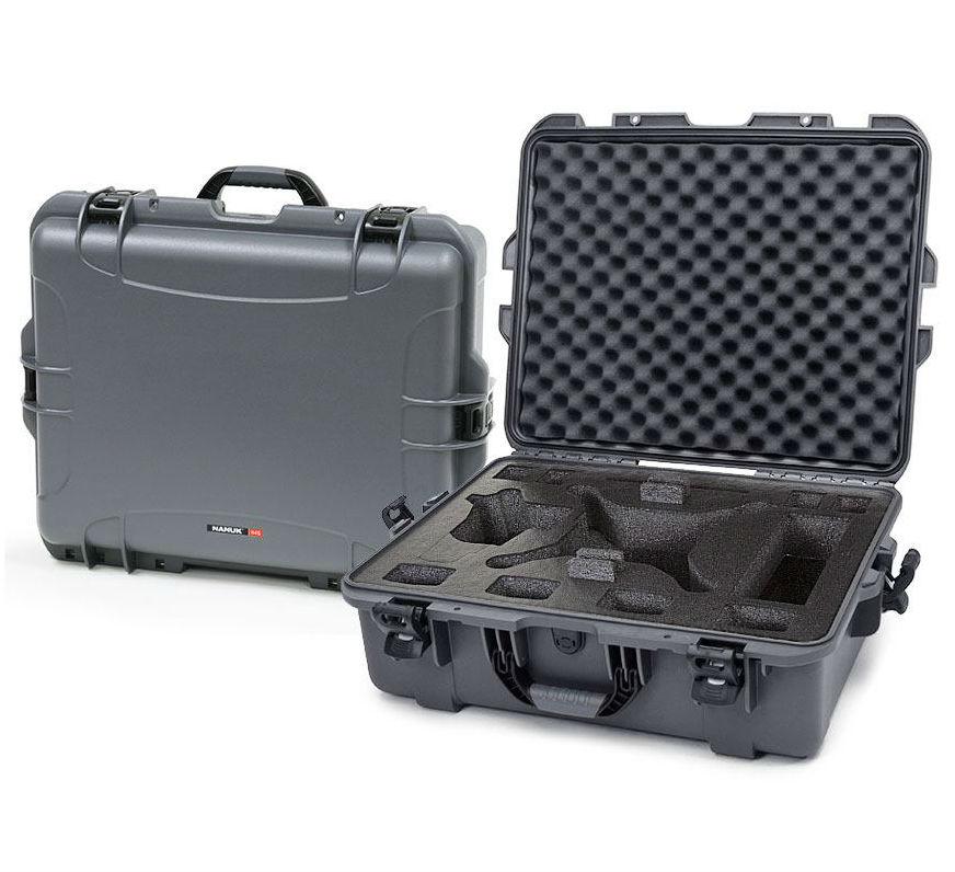 Nanuk 945 Case Graphite with Foam Insert for DJI Phantom 4