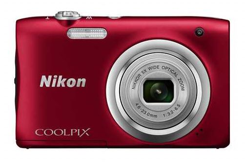 Nikon Coolpix A10 Red OUTLET