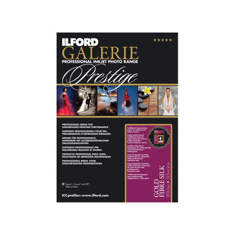 Ilford GALERIE Prestige Smooth Gloss 10x15cm 100 vel
