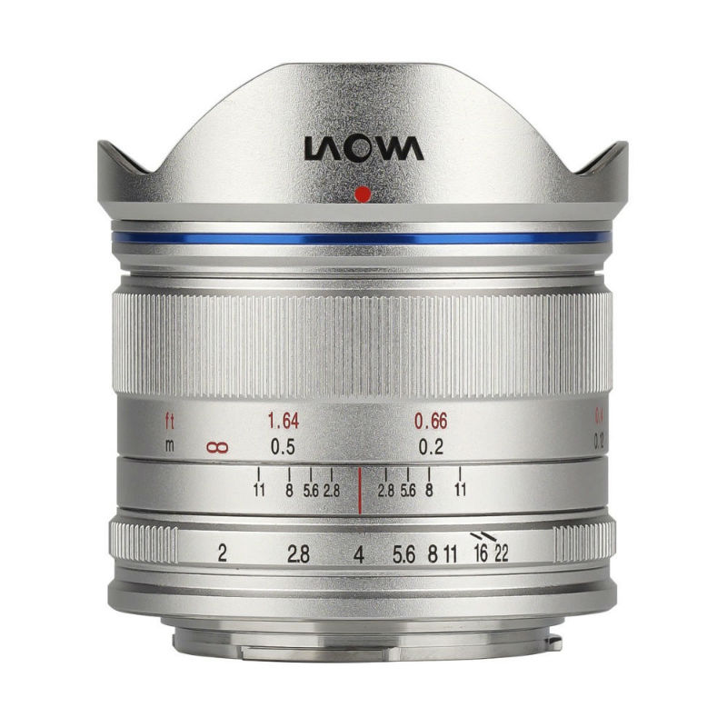 Venus Optics LAOWA 7.5mm F/2.0 Lightweight Silver MFT