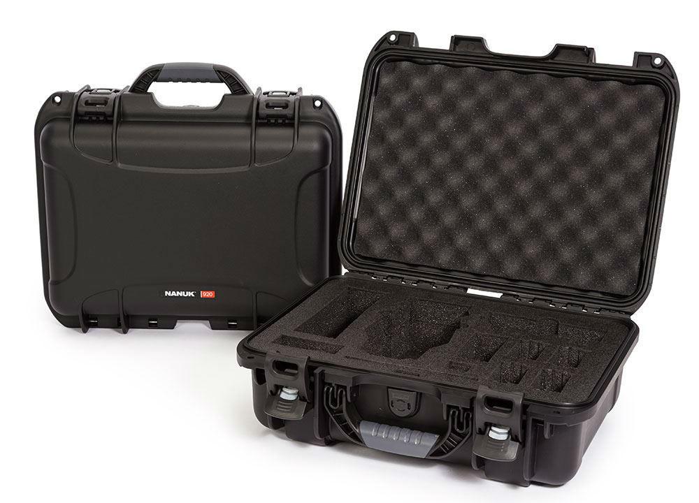 Nanuk 920 Case Black with Foam Insert for DJI Mavic