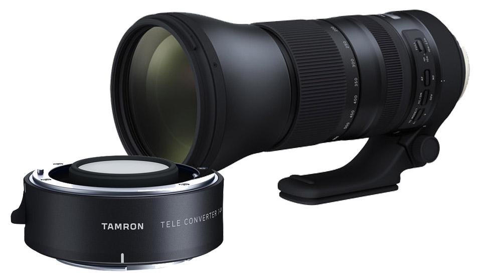 Tamron 150-600mm F/5-6.3 Di VC USD G2 Canon EF + 1.4x Teleconverter