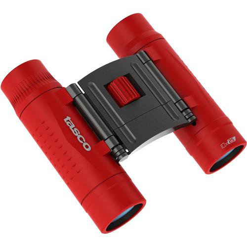 Tasco 10x25 Essentials 2016 Dakkant rood