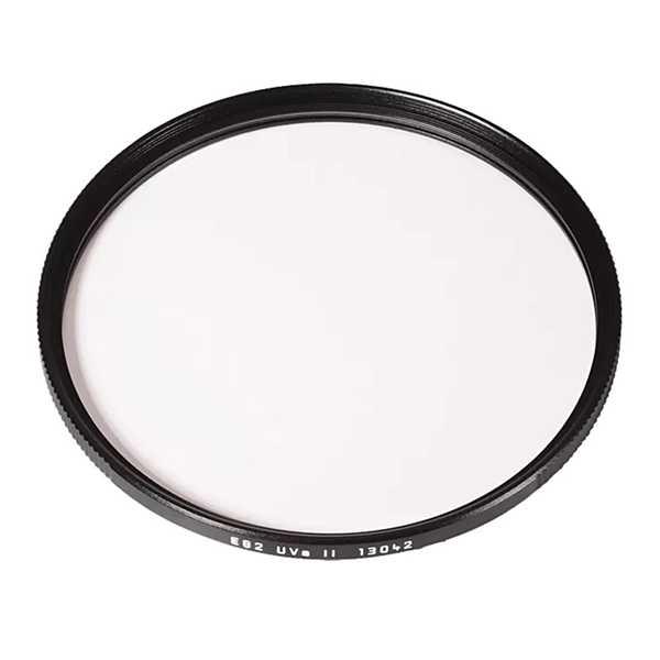 Leica 13042 UVa II E82 Filter zwart