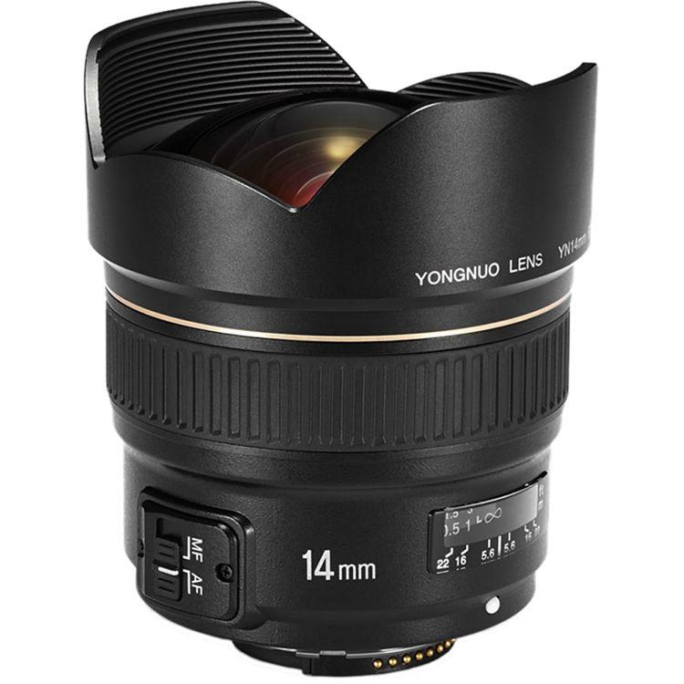 Yongnuo 14mm F/2.8 voor Nikon