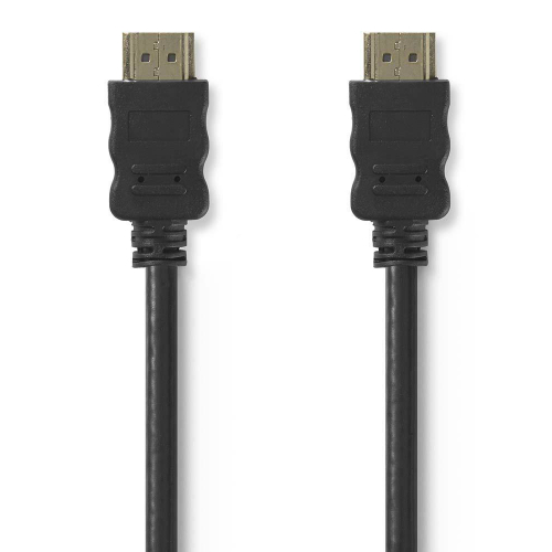 Nedis High Speed HDMI kabel met Ethernet 2m zwart