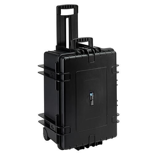 B&W Outdoor.cases Type 6800 zwart + verdeler