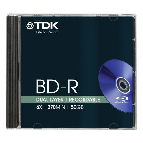 *TDK BDR 50GB 6x
