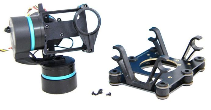 Feiyu Tech FY-G3 Ultra Brushless Gimbal For Aircraft