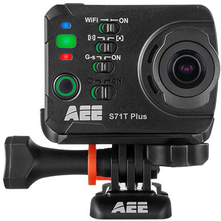 AEE S71T+ Action Camera 4k-15fps, 2,7k-30fps WiFi, Touch Screen TFT Scherm