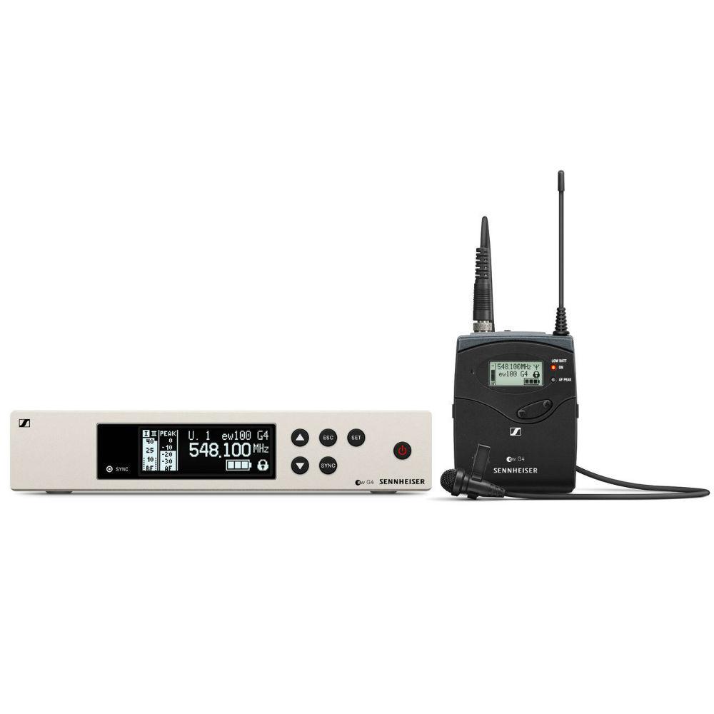 Sennheiser ew 100 G4-ME2-A draadloze dasspeld (516-558 MHz)