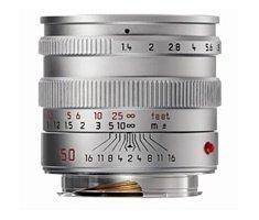 Leica 11892 M 50mm F/1.4 Summilux ASPH zilver 11892