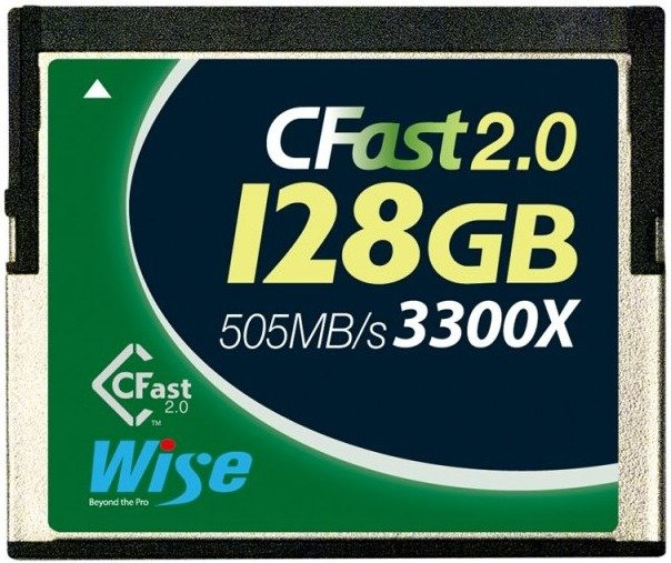 Wise Wise 128GB CFast 2.0 3300x groen