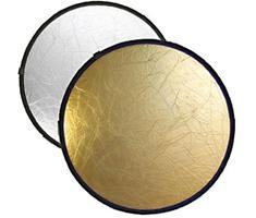 Bresser TR-5 reflectiescherm goud/zilver 110cm rond