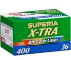 FUJI SUPERIA XTRA 400 36