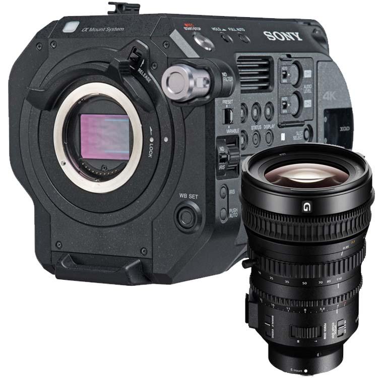 Sony PXW-FS7 mark II + 18-110mm F/4.0G OSS powerzoom (PXW-FS7M2K)
