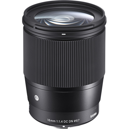 Sigma 16mm F/1.4 DC DN Contemporary Sony E