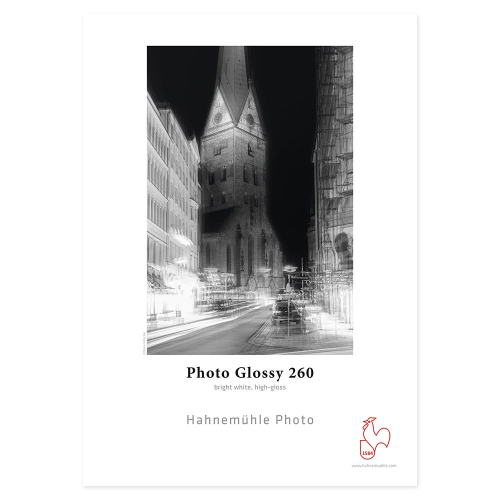 Hahnemuhle Photo Glossy 260g A4 Box 25 vel