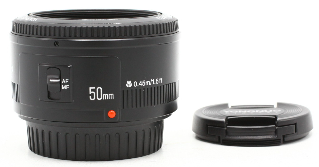 Yongnuo 50mm F/1.8 voor Canon EF occasion