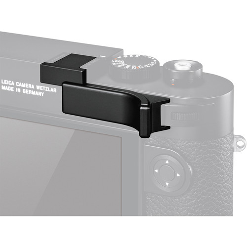 Leica 24014 Thumb Support Black