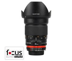 Samyang 35mm F/1.4 Canon