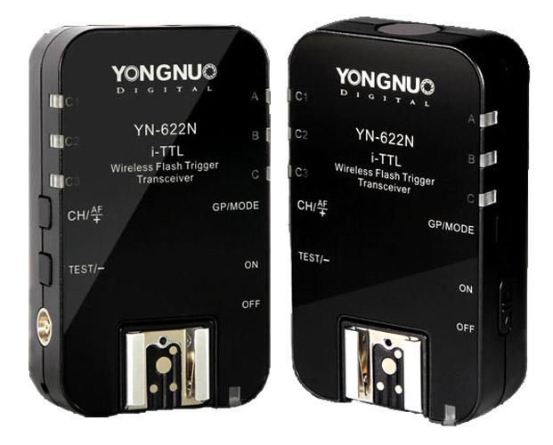 Yongnuo YN622N Wireless Flash Trigger Set voor Nikon