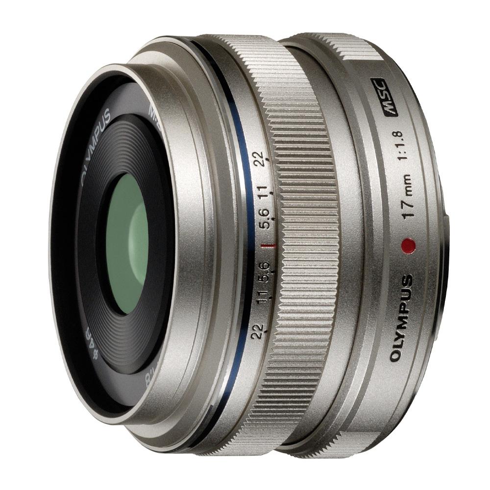 Olympus MFT 17mm F/1.8 zilver M.Zuiko Digital