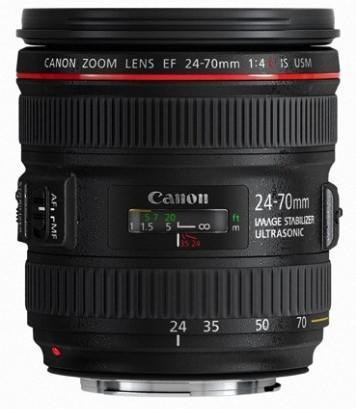 Canon EF 24-70mm F/4.0 L iS USM + EW-83M zonnekap