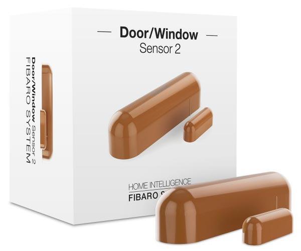 Fibaro Door/Window Sensor 2 Light Brown