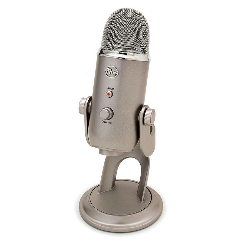 Blue Microphones Yeti Platinum Edition USB Microphone (Silver)