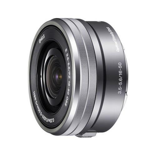 Sony SEL 16-50mm F/3.5-5.6 OSS zilver voor NEX