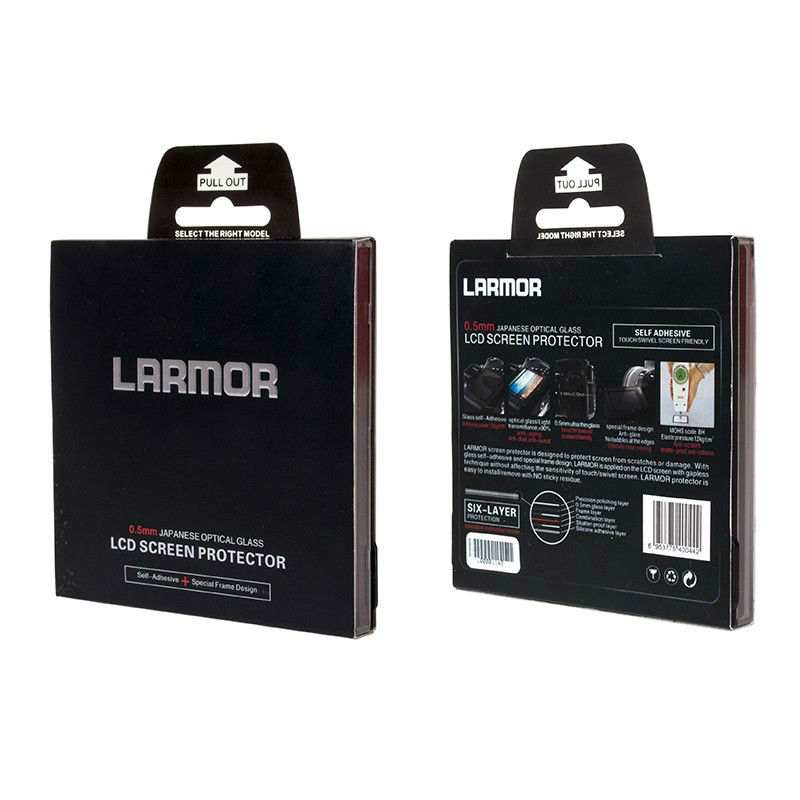 Larmor IV screenprotector Pana GF5/G6