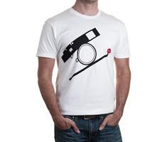 Leica 96645 T-Shirt Style Bauhaus Size M