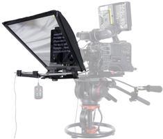 OneTakeOnly Pad Prompter (autocue) voor op een lampstatief