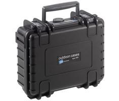 B&W outdoor.cases type 500 zwart leeg