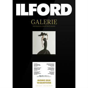 Ilford GALERIE Prestige Mono Silk Warmtone A4 25 Blatt