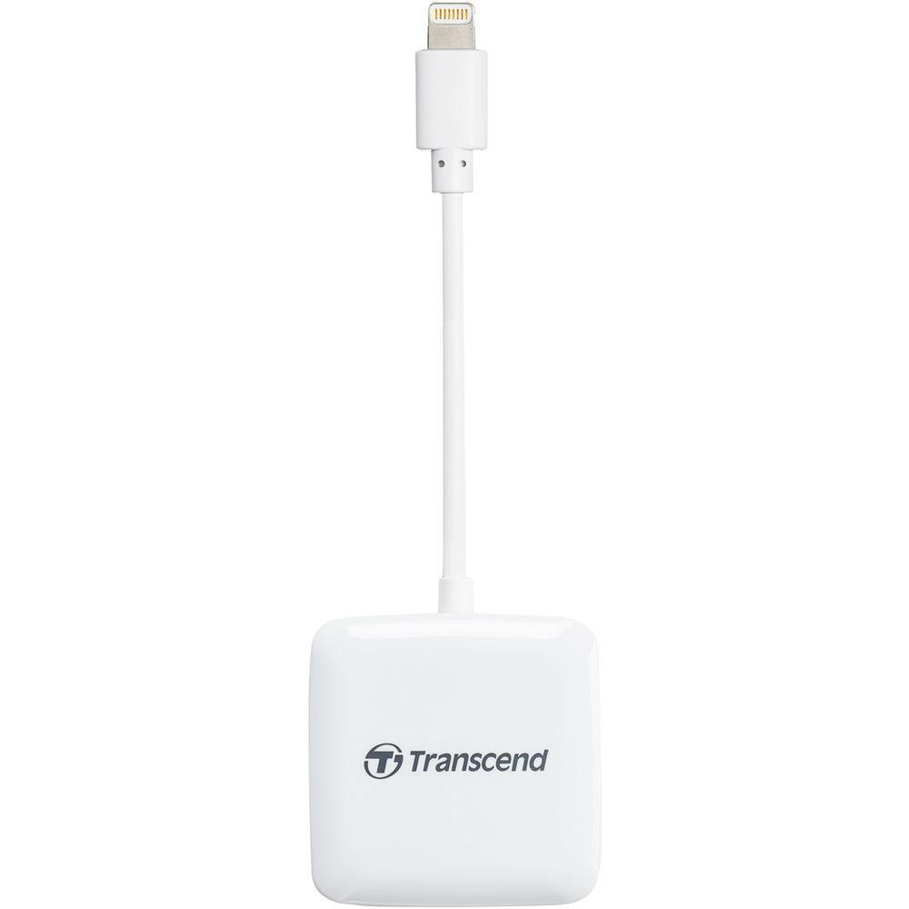 Transcend USB 2.0 Card Reader, Lightning