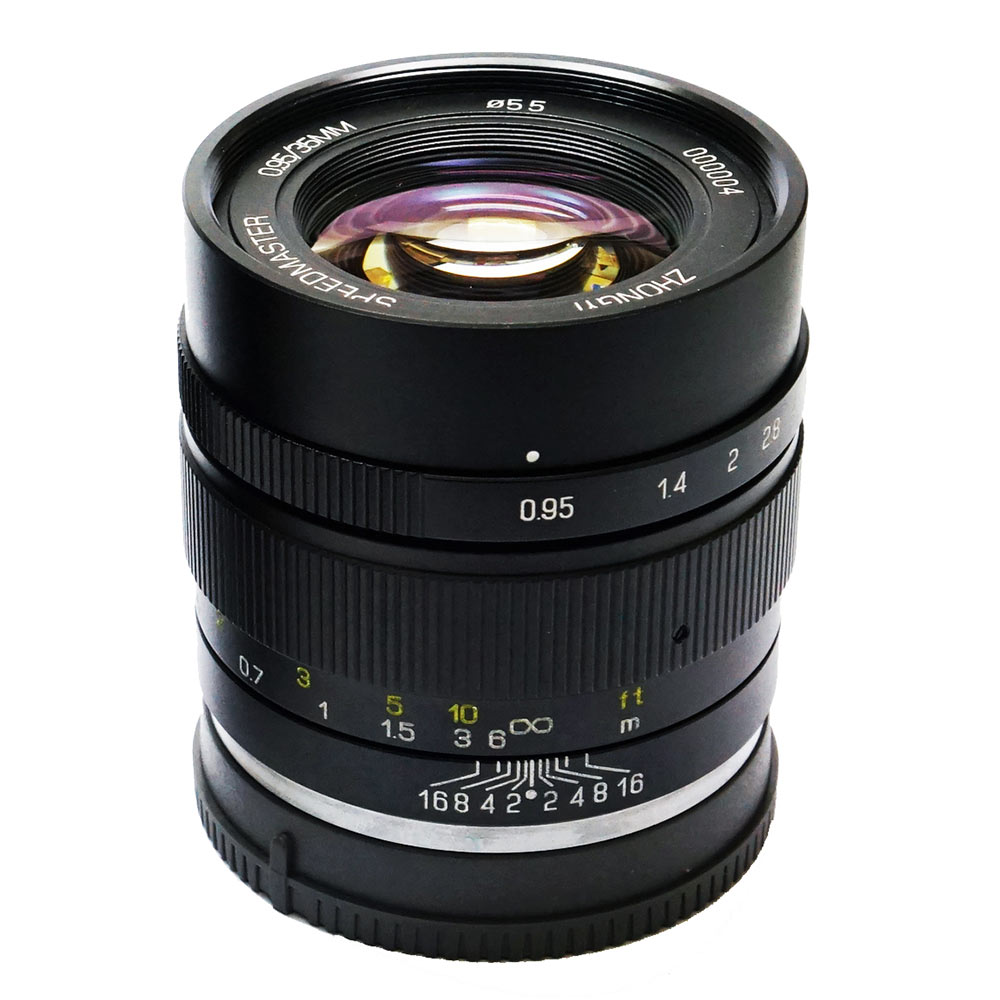 Zhongyi Mitakon 35mm F/0.95 Speedmaster mark II voor Sony E