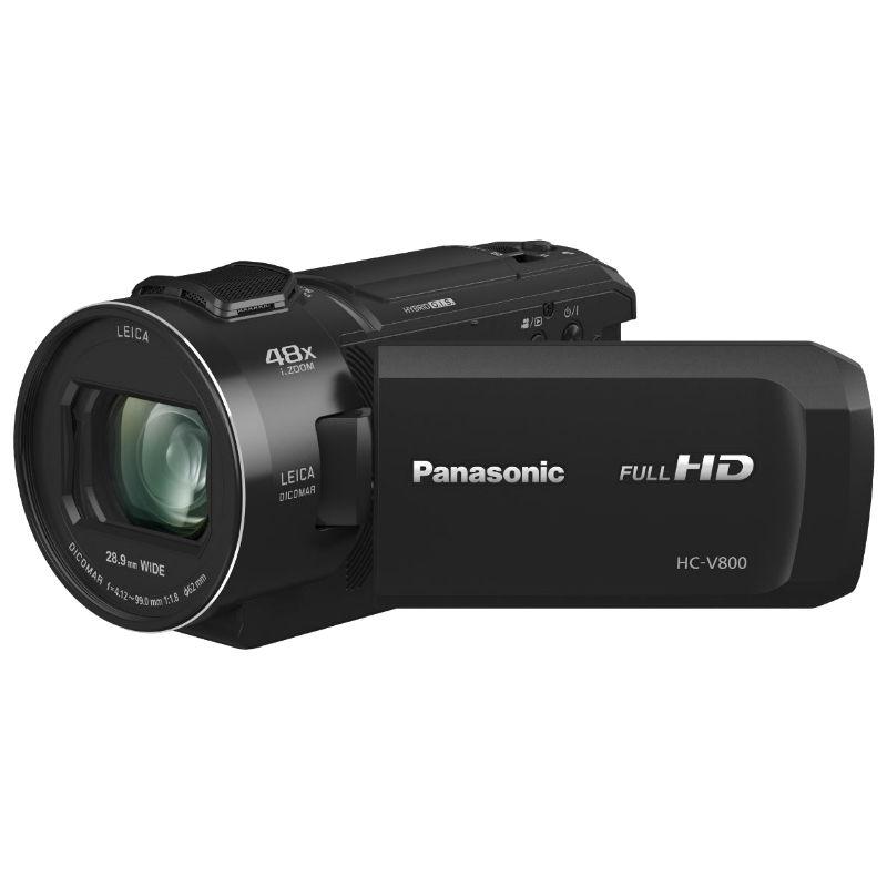 Panasonic HC-V800EG Full HD Camcorder zwart