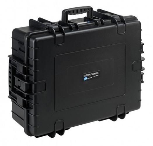 B&W Outdoor.cases Type 6500 zwart + Verdeler