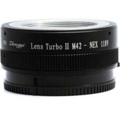 Zhongyi Mitakon Lens Turbo adapter M42-NEX Mark 2